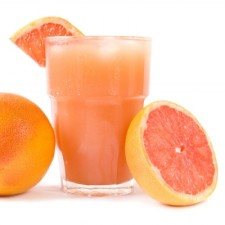 Grapefruit flavour refreshing drink