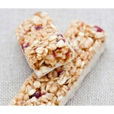 High-protein chocolate flavour snack bar
